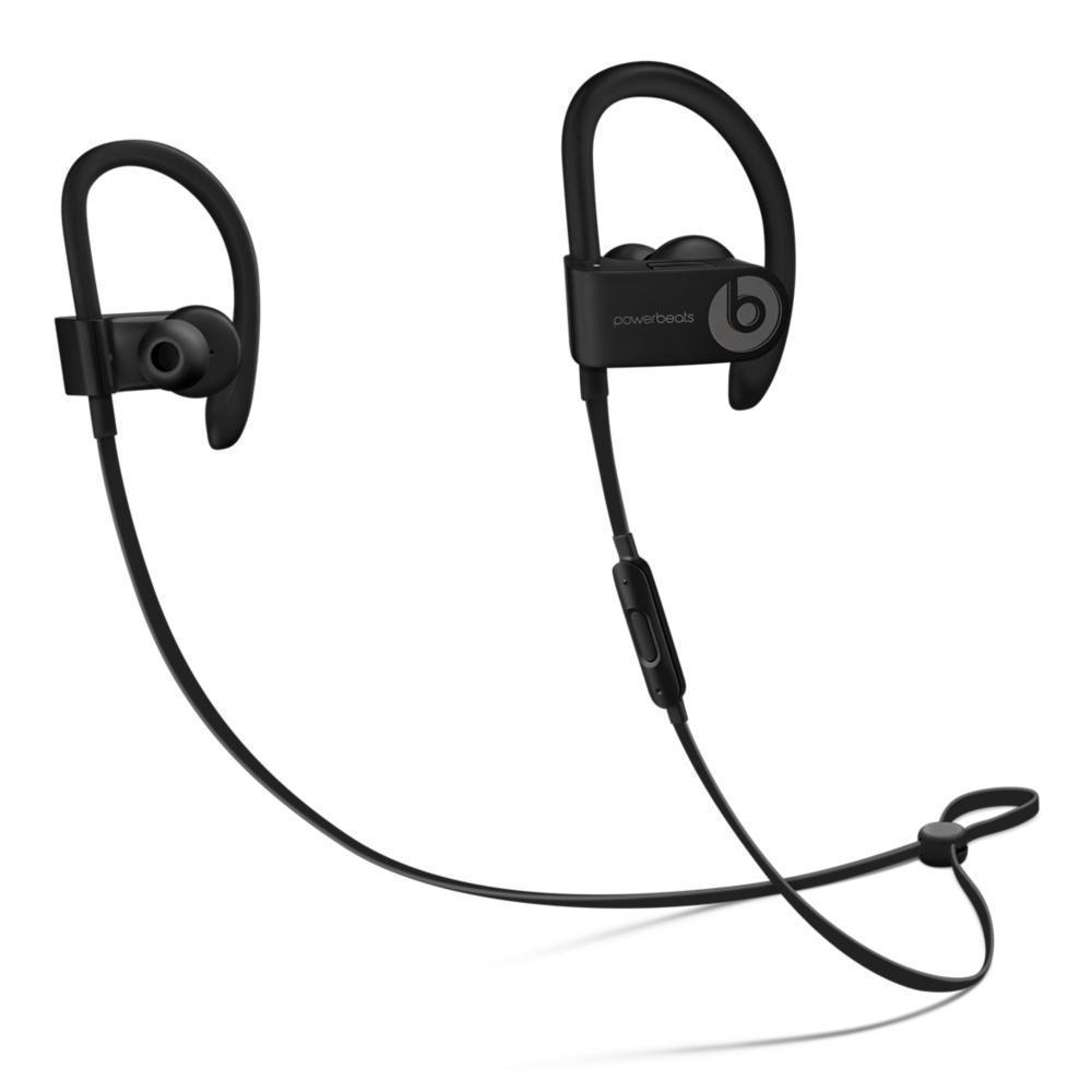 Beats By Dr. Dre Powerbeats 3 Earbud Redutor de ruído Bluetooth Earphones - Preto