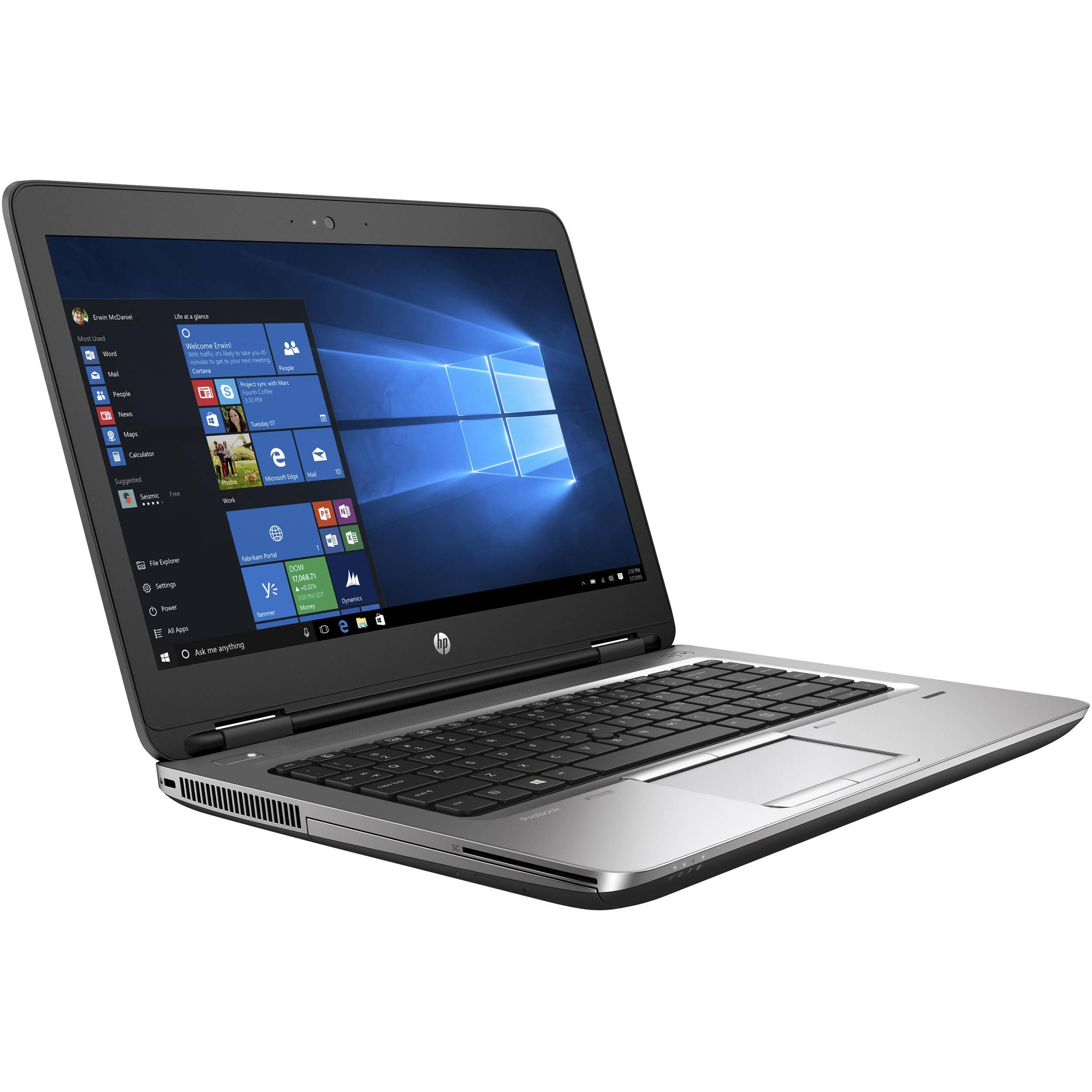 """HP ProBook 645 G2 14"""" A10 1,8 GHz  - HDD 500 Go - 8 Go AZERTY - Français"""