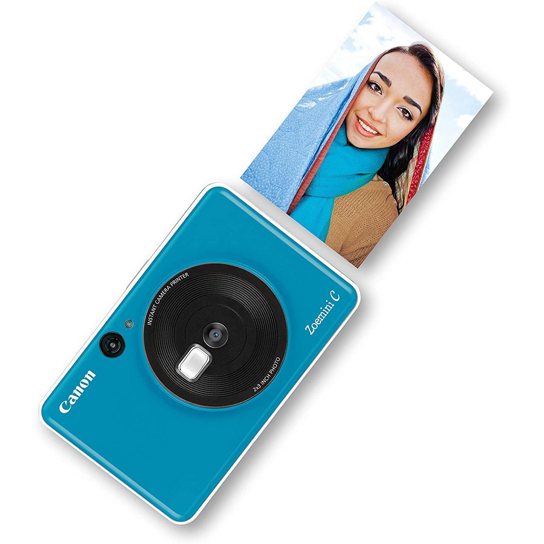 Appareil Photo Instantané Canon Zoemini C - Bleu