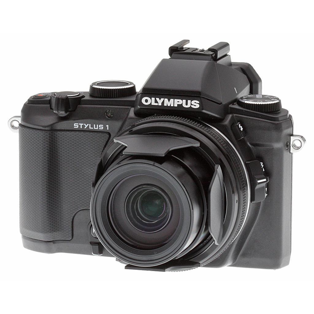 Bridge - Olympus Stylus 1 Noir Olympus Zuiko Digital 10.7x Wide Optical Zoom 28-300mm f/2.8