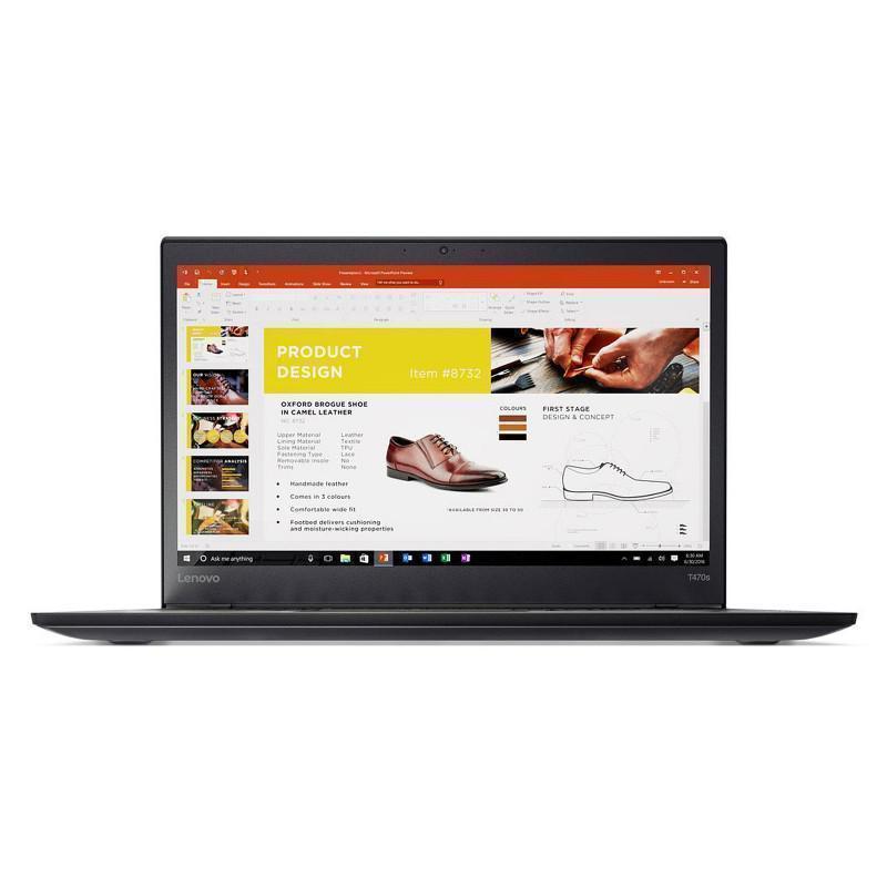 Lenovo ThinkPad T470s 14-inch (2017) - Core i5-6300U - 8GB - SSD 256 GB QWERTZ - German
