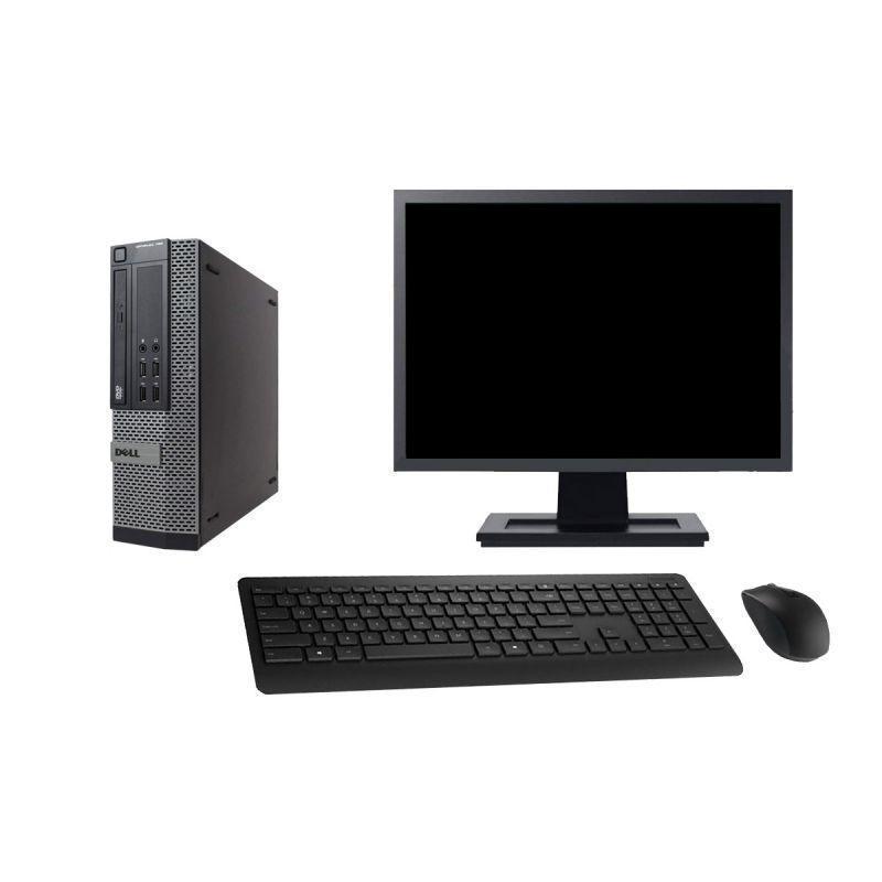 "Dell Optiplex 790 SFF 22"" Pentium 2,7 GHz - HDD 2 To - 8 Go"