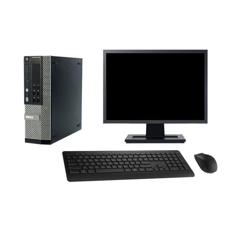 "Dell OptiPlex 990 SFF 19"" Pentium 2,8 GHz - HDD 2 To - 8 Go"