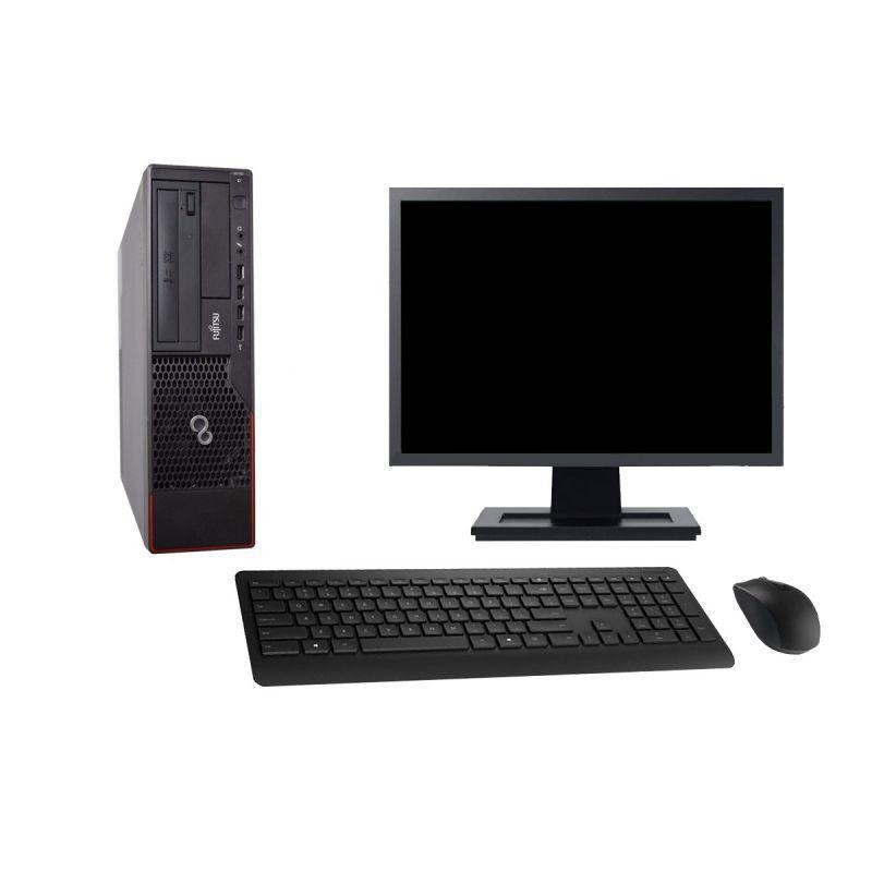 """Fujitsu Esprimo E700 E90+ DT 19"""" Pentium 2,7 GHz - HDD 2 To - 8 Go"""