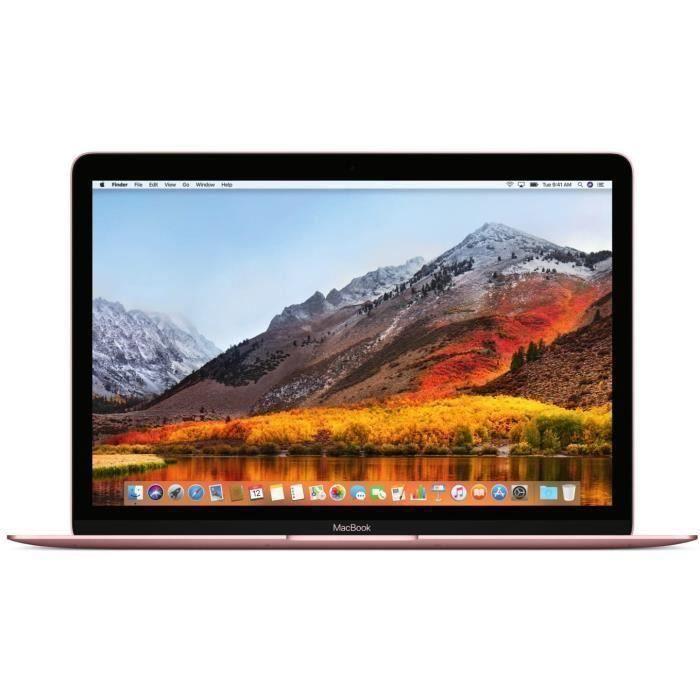 "MacBook 12"" Retina (2017) - Core m3 1,2 GHz - SSD 256 Go - 8 Go QWERTY - Italien"