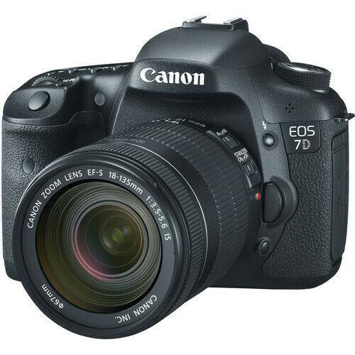 Cámara Reflex - Canon EOS 7D + Objetivo 18-135 MM