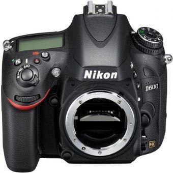 Nikon D600 Gehäuse Schwarz