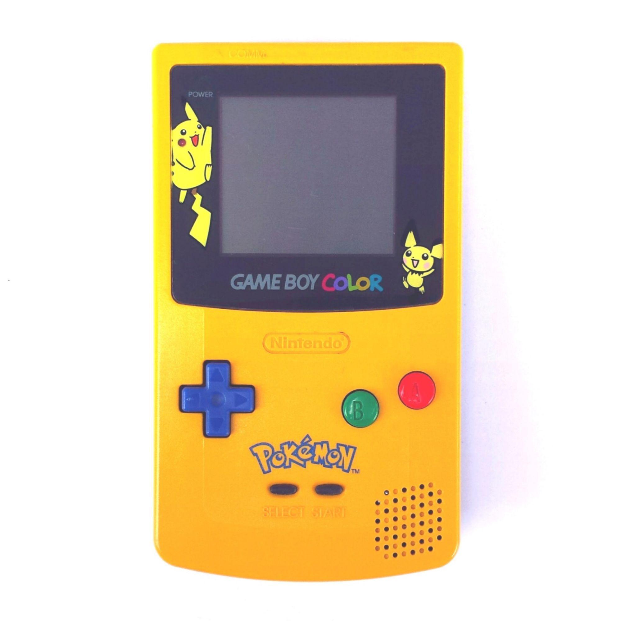 Nintendo Game Boy Color - Edition spéciale Pikachu Pokémon