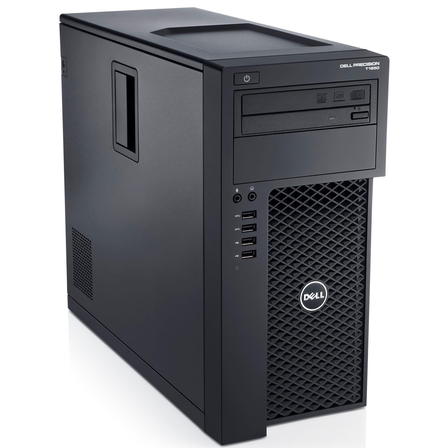 Dell Precision T1700 Xeon E3 3,5 GHz - SSD 256 Go + HDD 500 Go RAM 8 Go