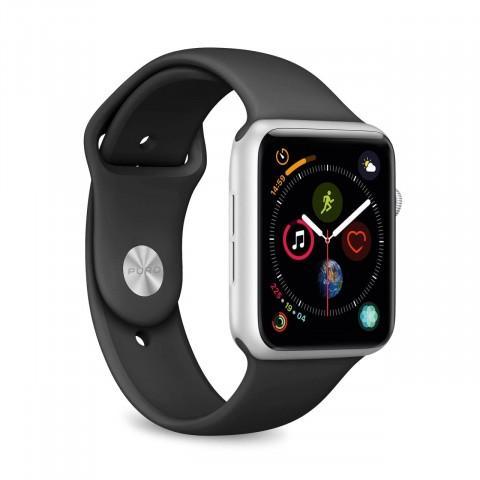 Apple Watch (Series 1) March 2015 42 - Aluminium Silver - Sport loop Black