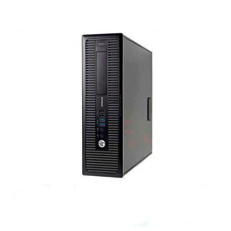 HP EliteDesk 800 G1 SFF Core i5 3,2 GHz - SSD 128 Go + HDD 500 Go RAM 8 Go