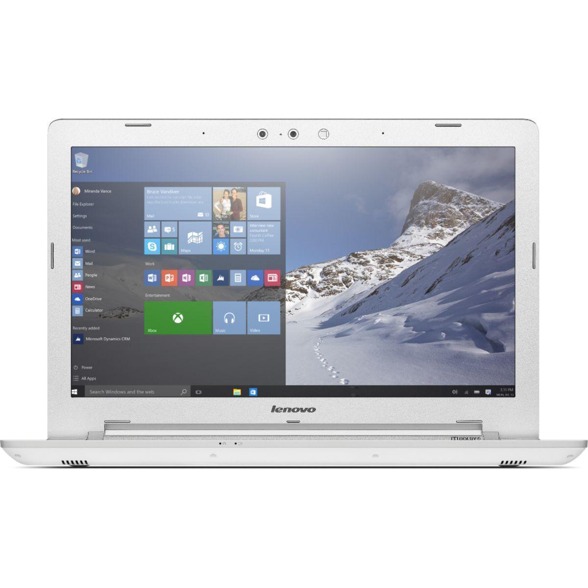 "Lenovo Z51-70 15"" Core i3 2 GHz - HDD 1 TB - 4GB Tastiera Francese"