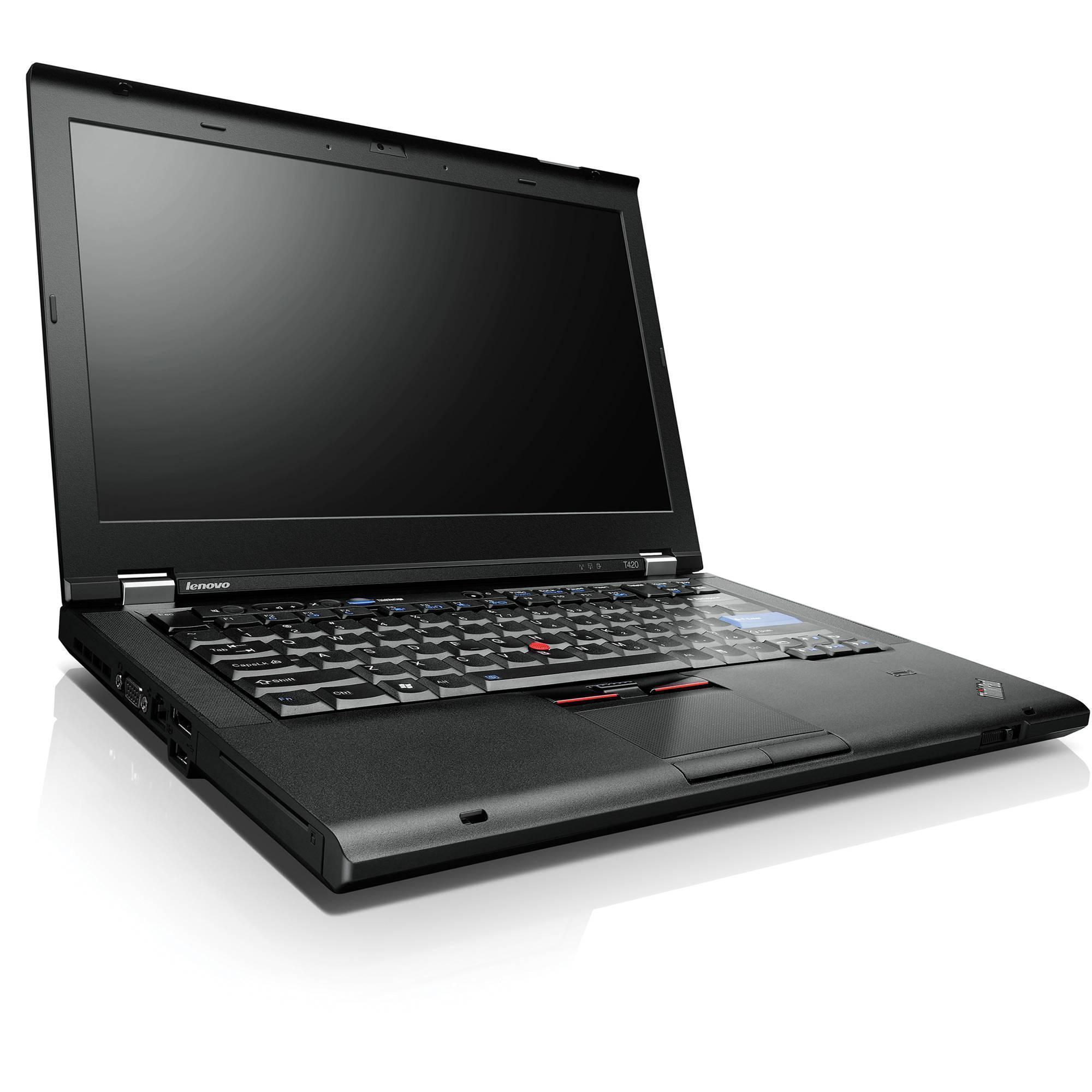 """Lenovo ThinkPad T420 14"""" Core i5 2,5 GHz  - SSD 240 GB - 4GB AZERTY - Französisch"""
