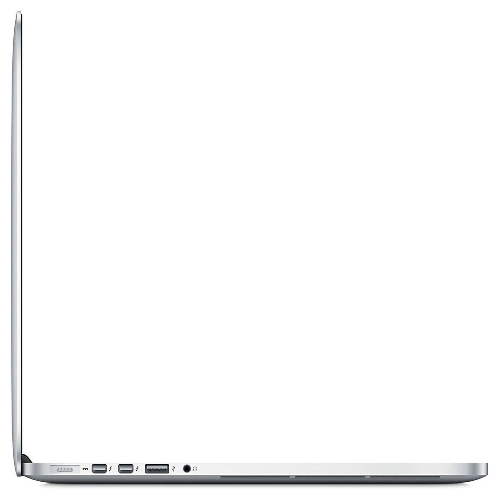 """MacBook Pro 15"""" Retina (2014) - Core i7 2,2 GHz - SSD 512 Go - 16 Go AZERTY - Français"""