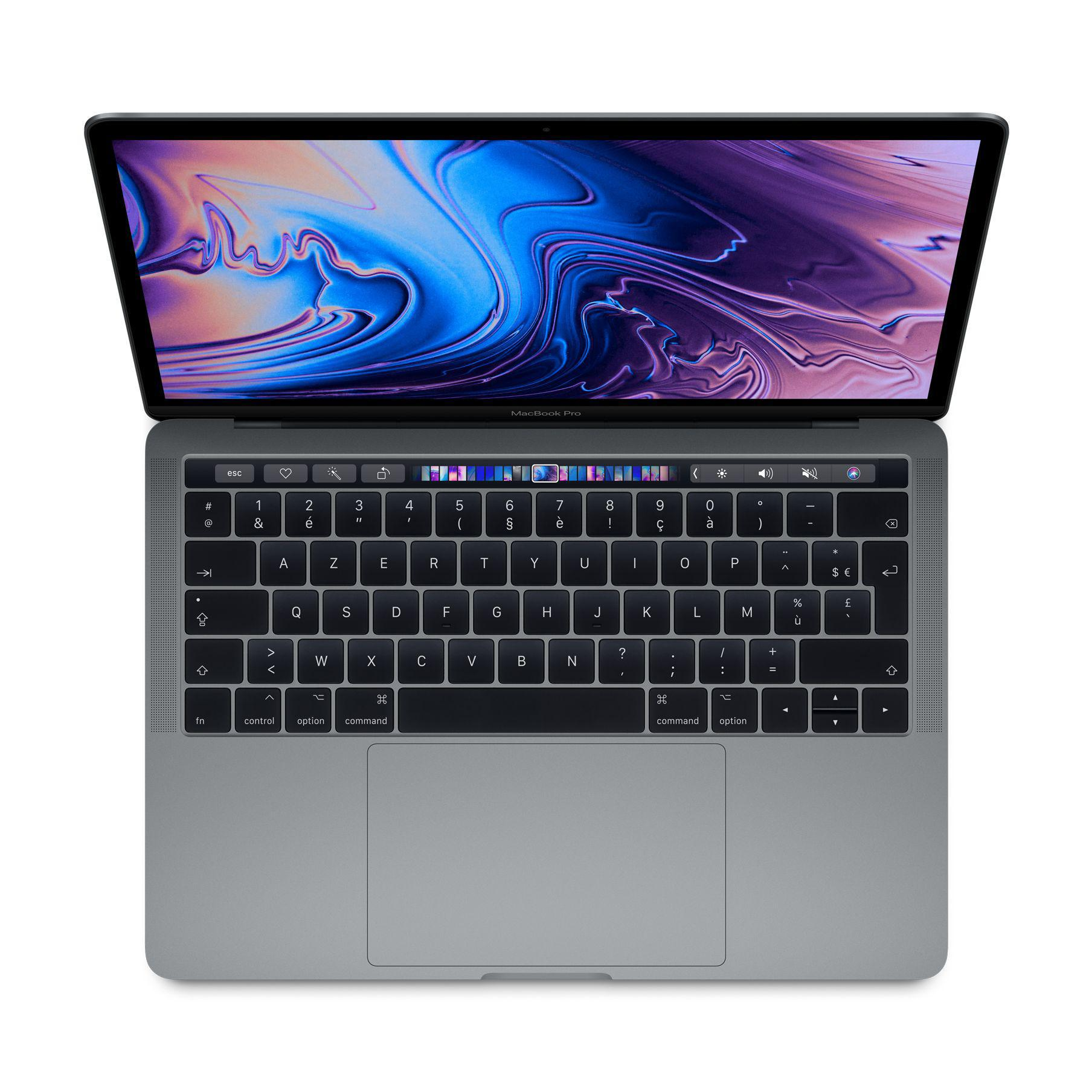 "MacBook Pro Touch Bar 13"" Retina (2016) - Core i7 3,3 GHz - SSD 512 Go - 16 Go AZERTY - Français"