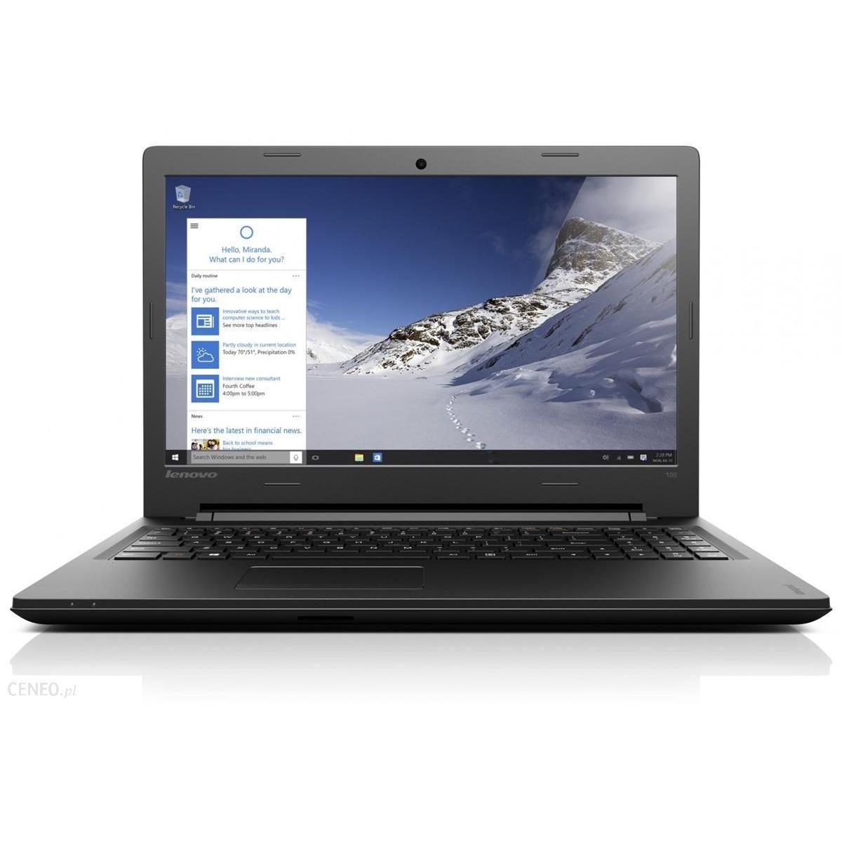 Lenovo Ideapad 100-15IBD 15,6-inch () - Core i5-4288 - 4GB - HDD 500 GB AZERTY - Francês