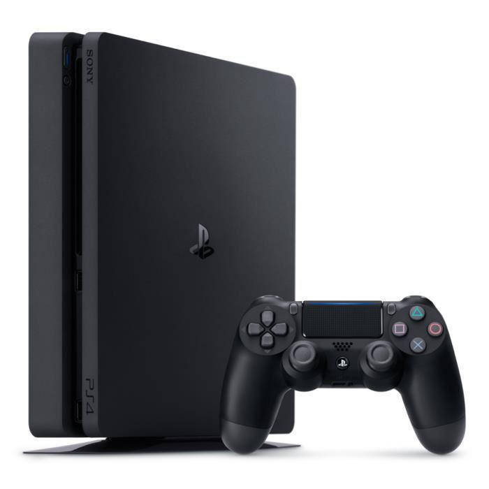 Console Sony PS4 1 To Slim - Noir