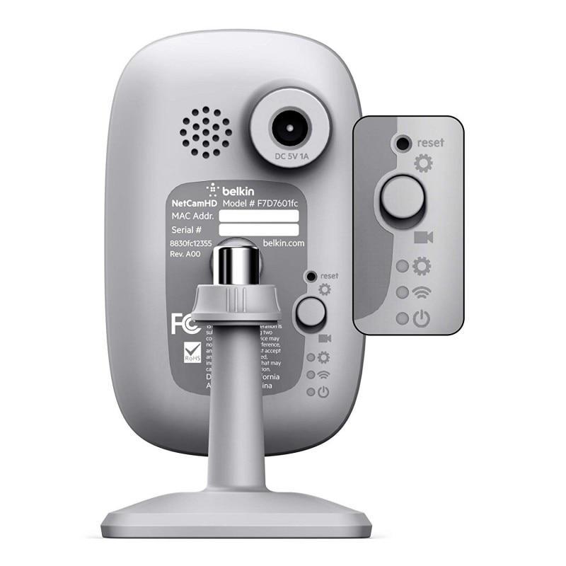 Caméra Belkin NetCam - Blanc/Gris