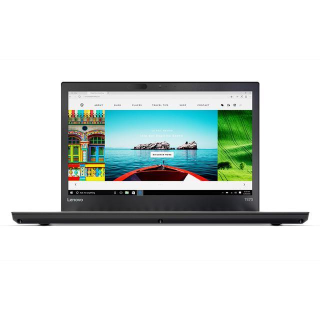 """Lenovo ThinkPad T470 14"""" Core i5 2,4 GHz - SSD 480 Go - 8 Go QWERTY - Espagnol"""