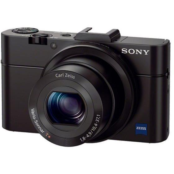 Kompaktkamera - Sony DSC-RX100M2 - Schwarz
