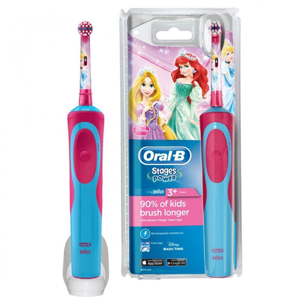 Brosse à dent électrique Oral-B Stages Power Disney Princesses