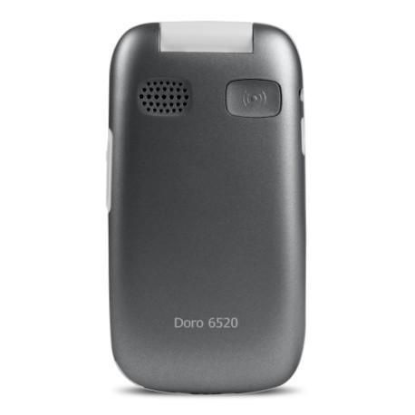 Doro 6520 - Grey/White - Unlocked