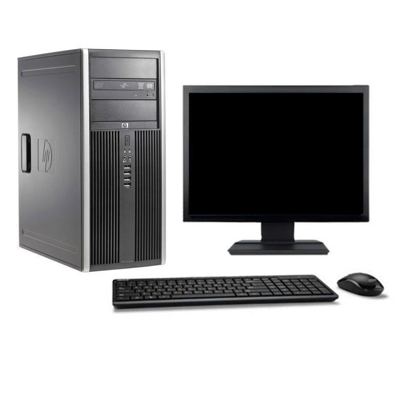 """Hp Compaq Elite 8200 MT 19"""" Core i7 3,4 GHz - SSD 480 GB - 16GB teclado francés"""