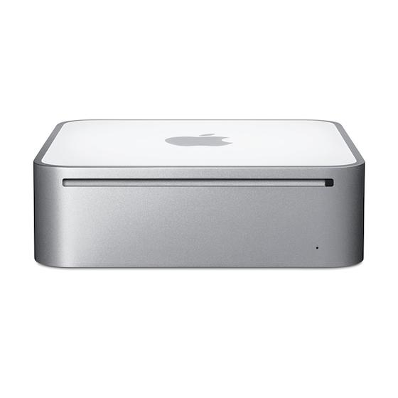 Mac mini (Augusti 2007) Core 2 Duo 2 GHz - SSD 128 GB - 8GB