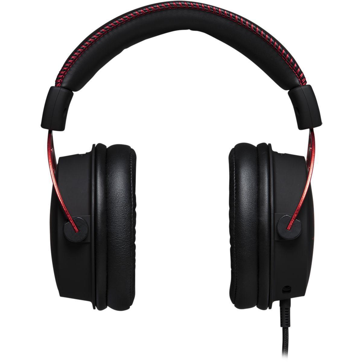 Kopfhörer Gaming mit Mikrophon Hyperx Cloud Alpha - Schwarz/Rot