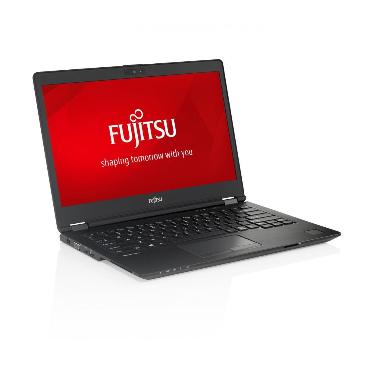 Fujitsu LifeBook U747 14-inch (2018) - Core i7-7600U - 8GB - SSD 512 GB QWERTY - Norwegian