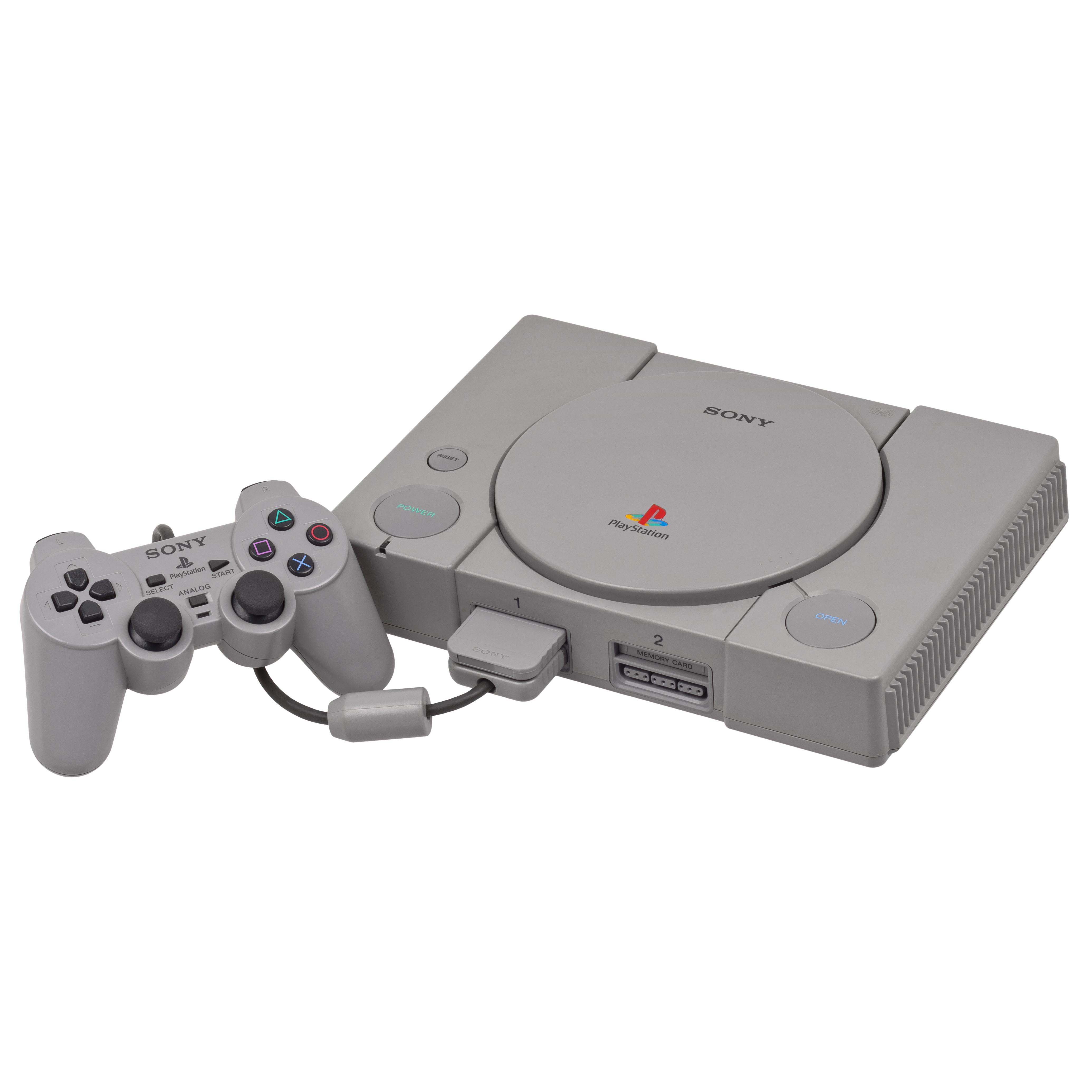 Console Sony Playstation Classic + 20 jeux -+ 1 manette - Blanc