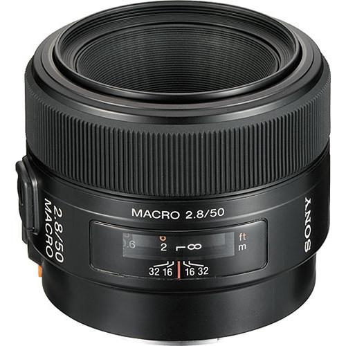 Objektiv Sony A 50 mm f/2.8