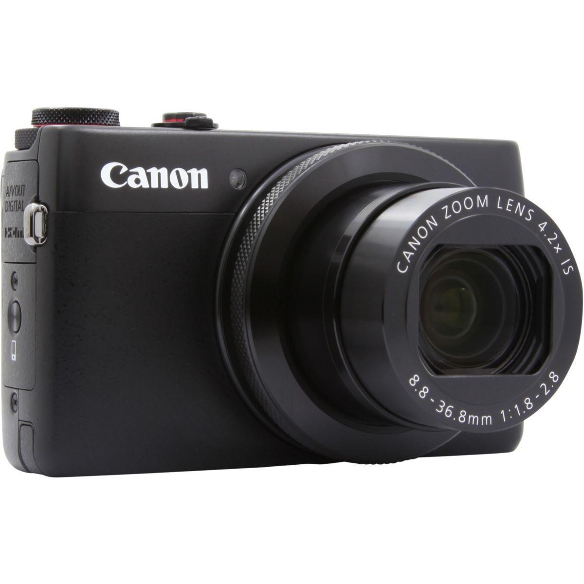 Compact - Canon PowerShot G7X Noir Canon Canon Zoom Lens 4.2x IS 24–100mm f/1.8–2.8