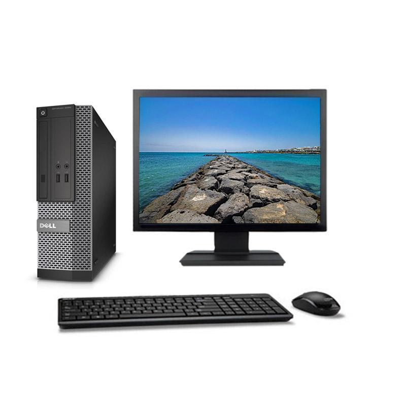 """Dell OptiPlex 3020 SFF 19"""" Core i3 3,4 GHz - SSD 480 GB - 8GB AZERTY"""