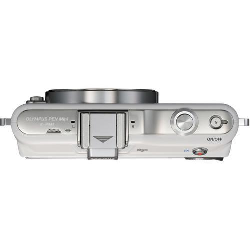Olympus PEN E-PM1 Weiß + Linse 14-42mm