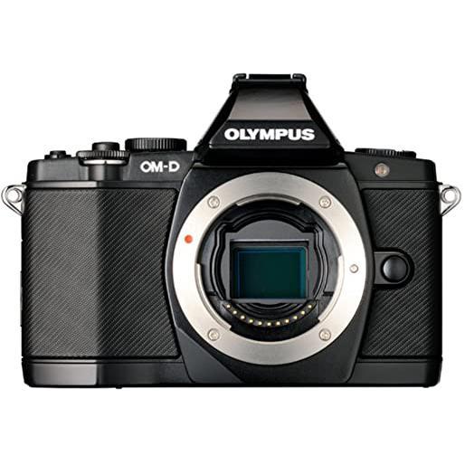Hybride - Olympus OM-D E-M5 Noir Olympus M.Zuiko Digital ED 12-50mm f/3.5-6.3EZ