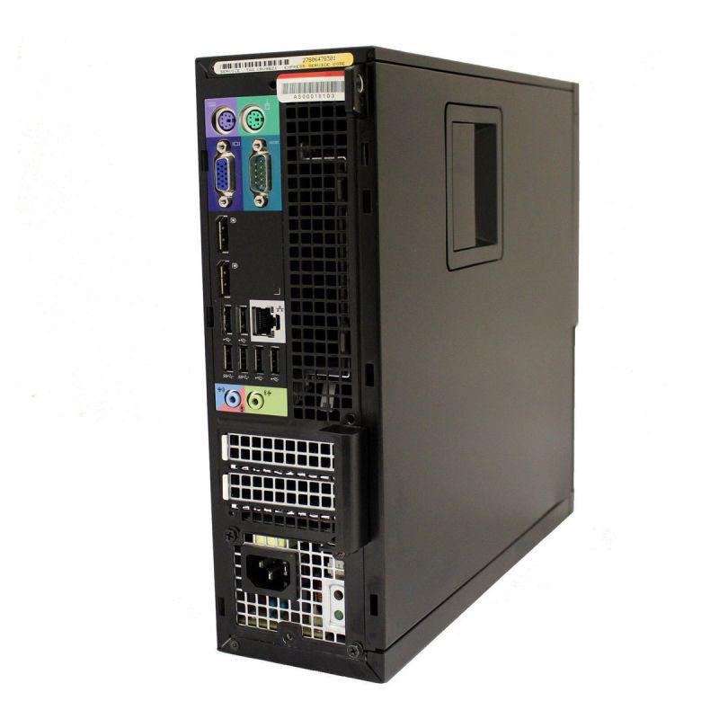 """Dell OptiPlex 9010 SFF 19"""" Core i5 3,1 GHz - SSD 960 Go - 32 Go"""