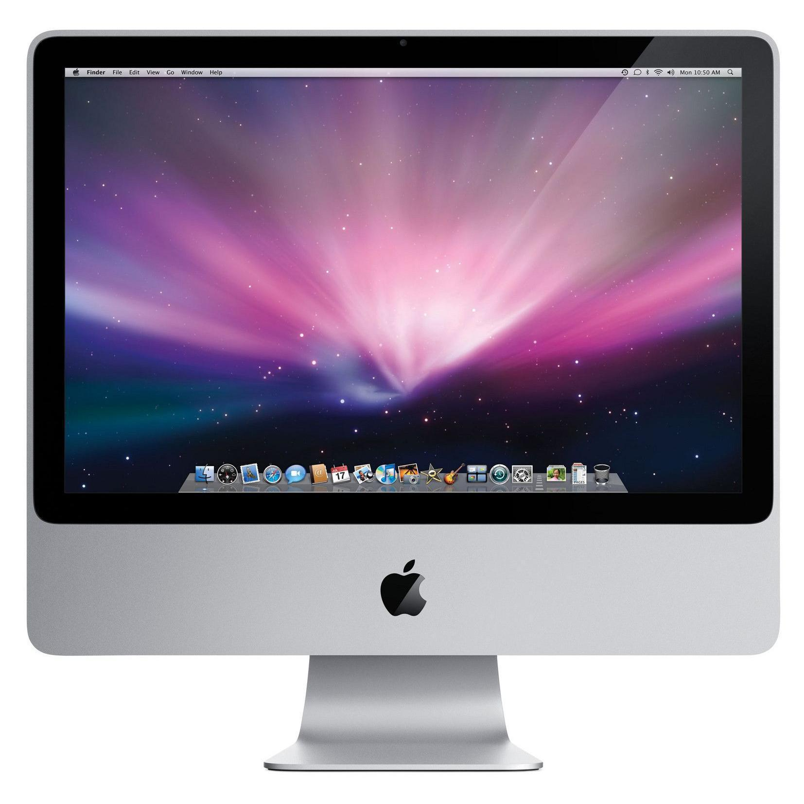 "iMac 24"" Core 2 Duo 2,8 GHz  - SSD 128 Go RAM 4 Go"