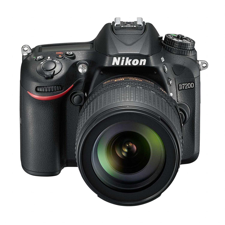 Reflex Nikon D7200 - Musta + Objektiivi Nikon AF-S DX 18-105mm f/3.5-5.6G ED VR