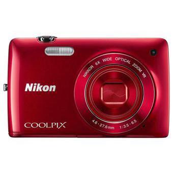 Nikon S4200 Compacto 15,9 - Vermelho