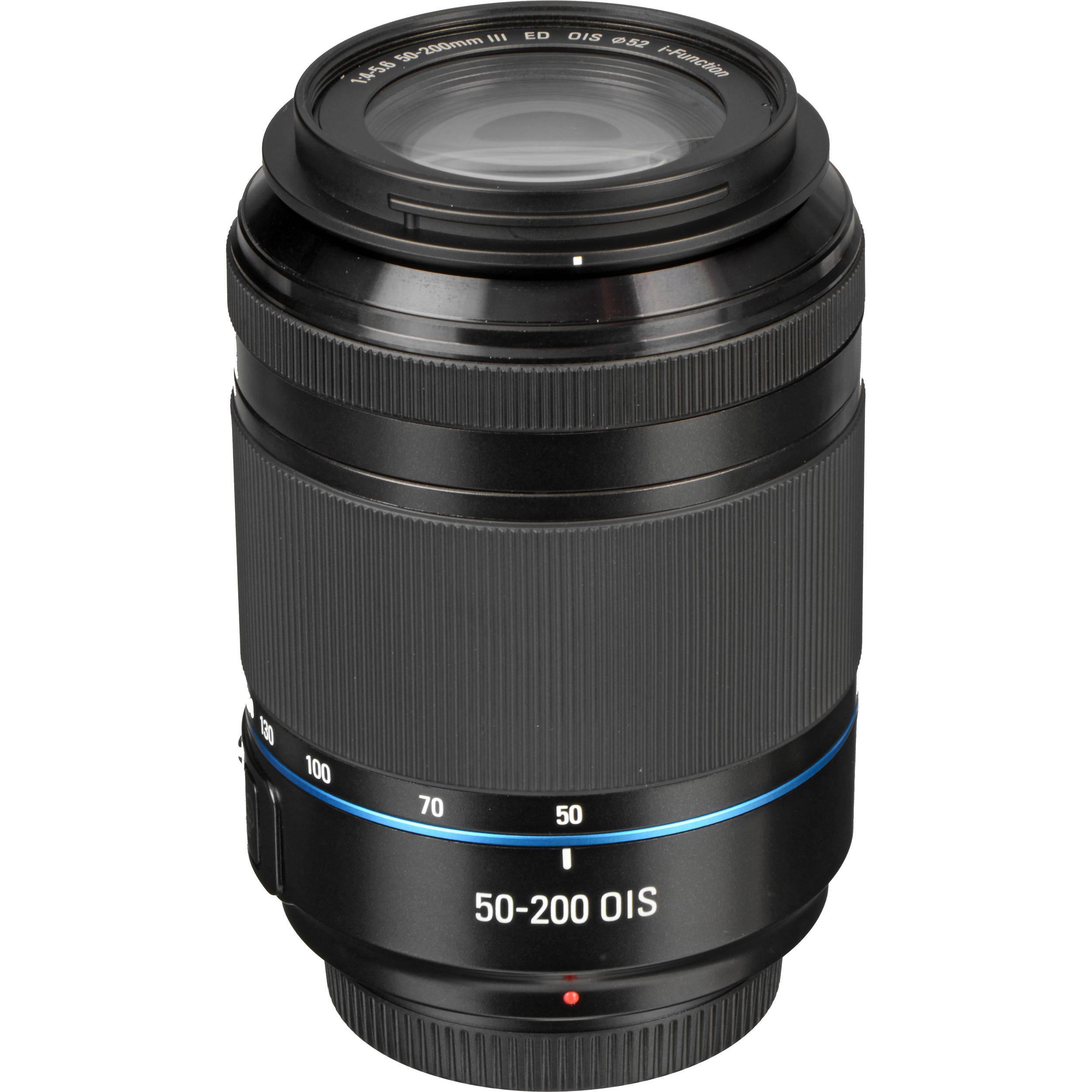 Hybride - NX1100 Noir Samsung NX 50-200mm f/4-5.6