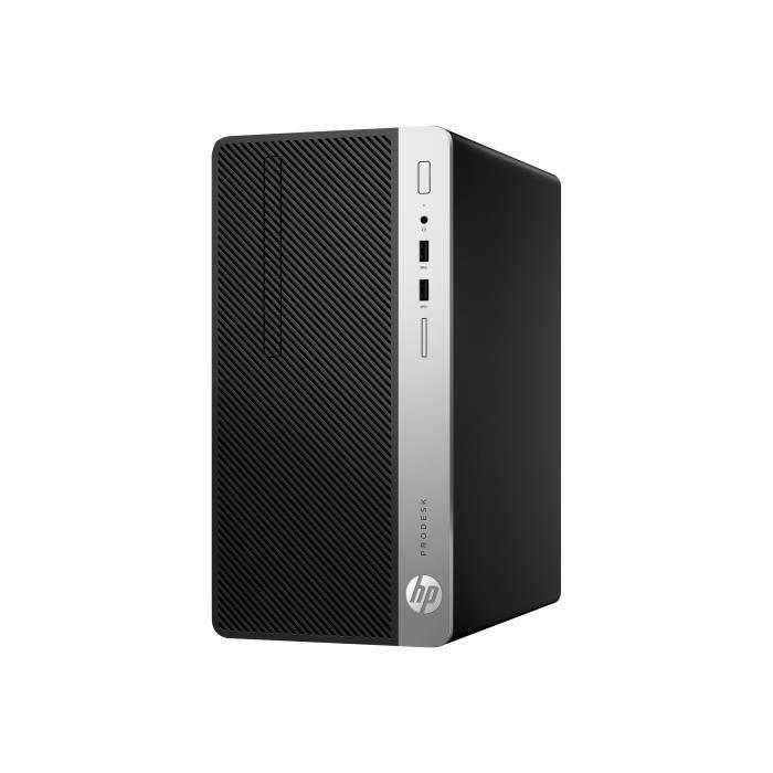 HP EliteDesk 800 G4 SFF Core i3 3,6 GHz - HDD 500 Go RAM 8 Go