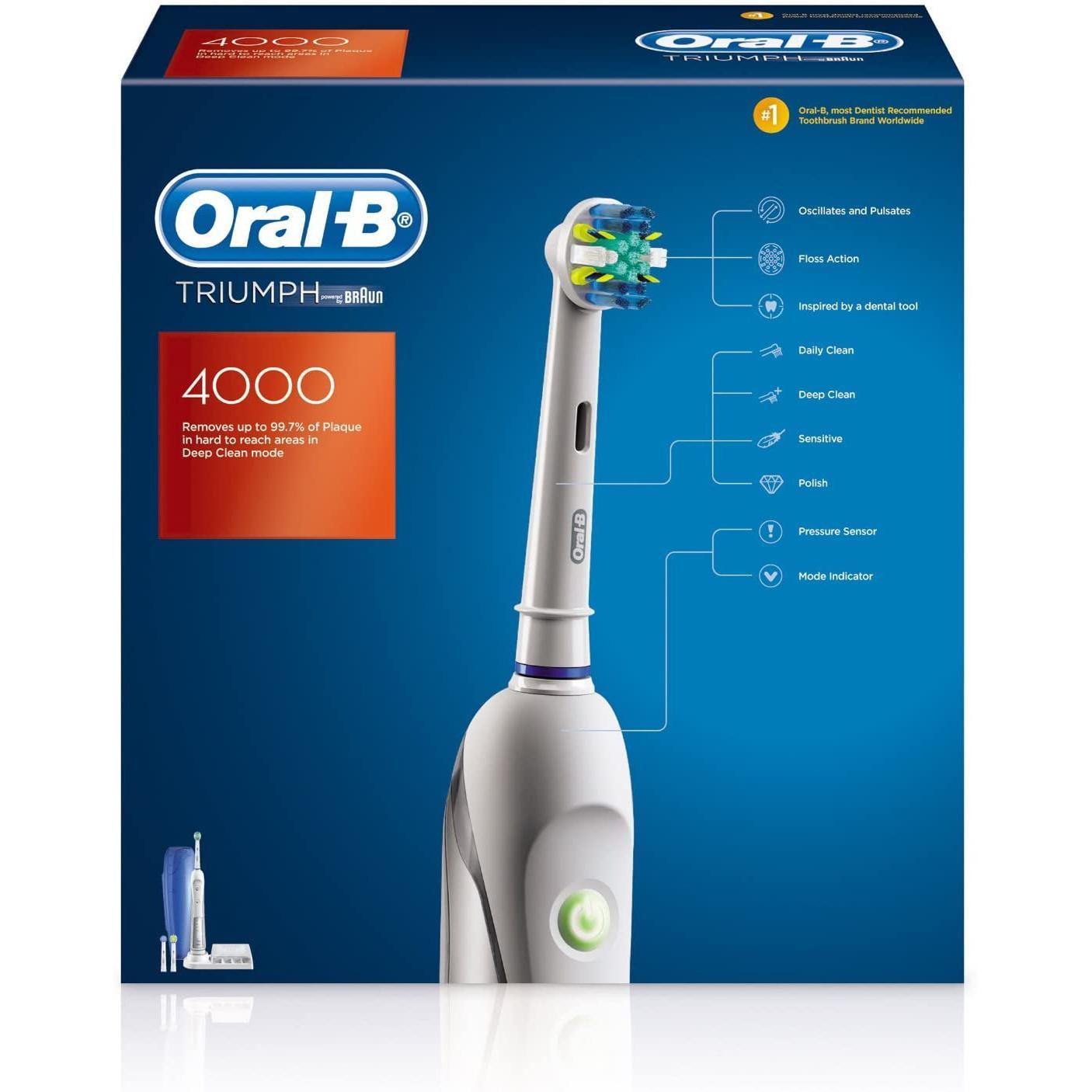 Brosse à dent électrique Oral-B Triumph 4000