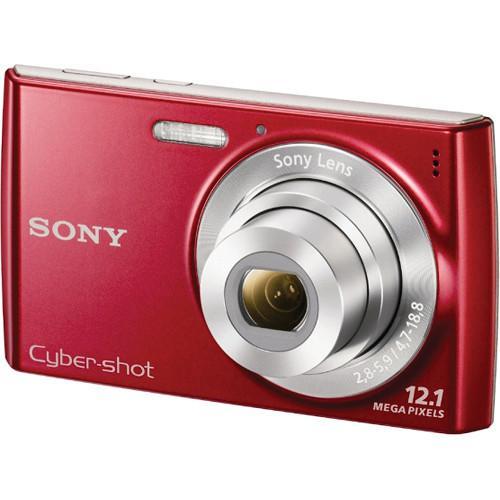 Compact - Sony Cyber-Shot DSC-W510 Rouge Sony Sony Lens 25-125 mm f/2.8-5.9