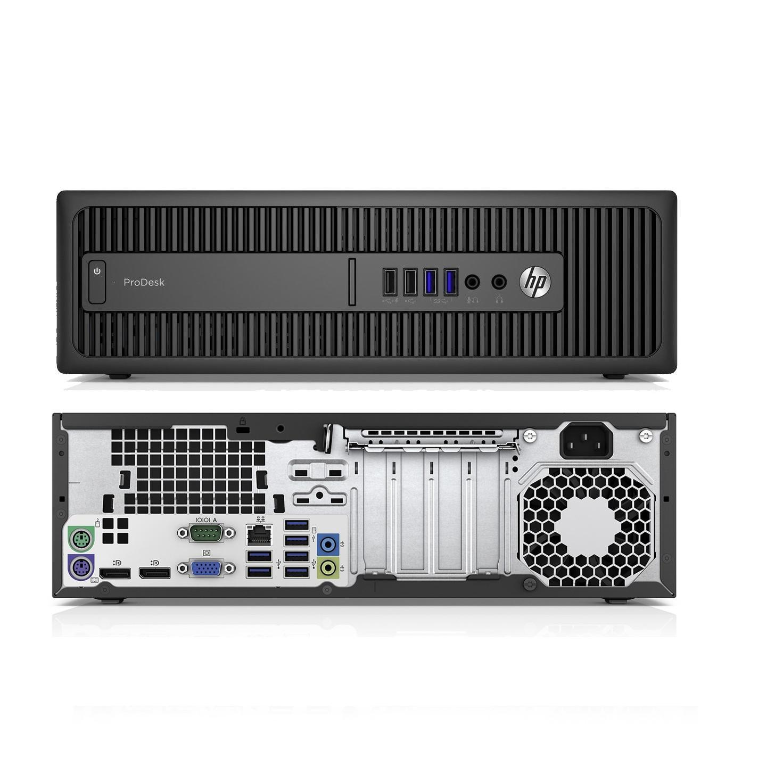 HP ProDesk 600 G2 SFF Core i3 3,7 GHz - SSD 256 Go RAM 8 Go