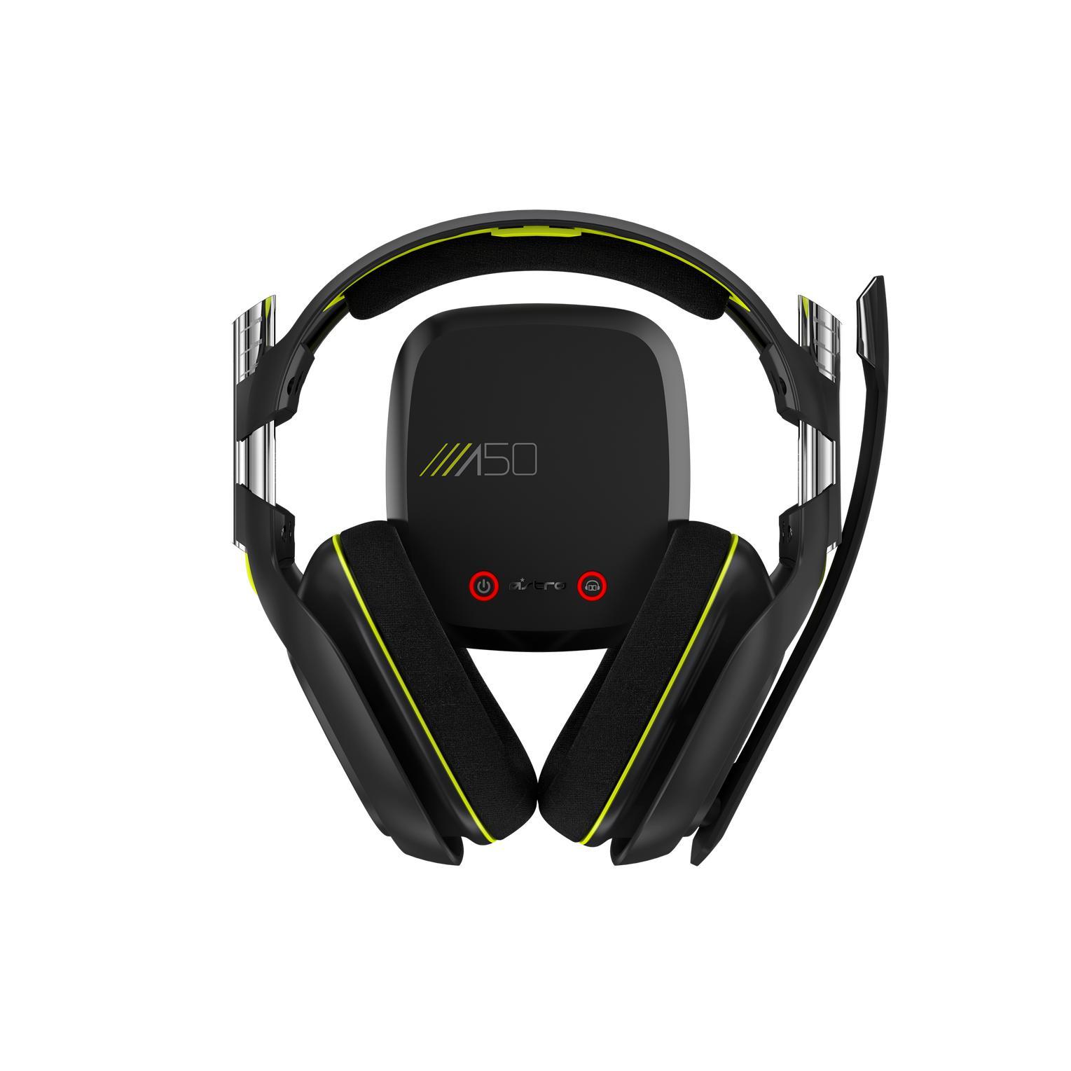 Casque Réducteur de Bruit Gaming avec Micro Astro A50 - Noir/Jaune