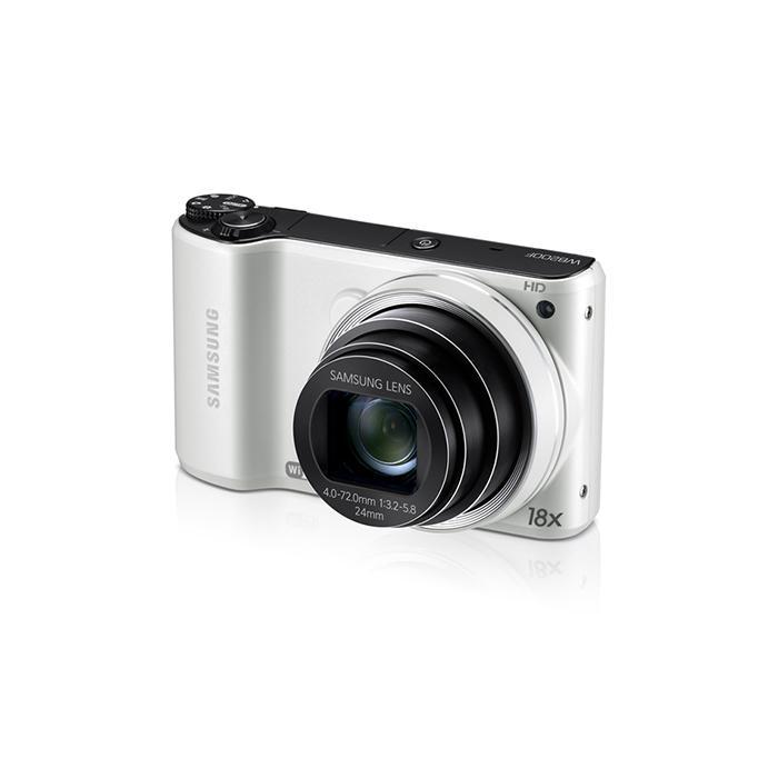 Compact - WB200F Blanc Samsung 18x Optical Samsung Zoom Lens 24-432 mm f/3.2-5.8