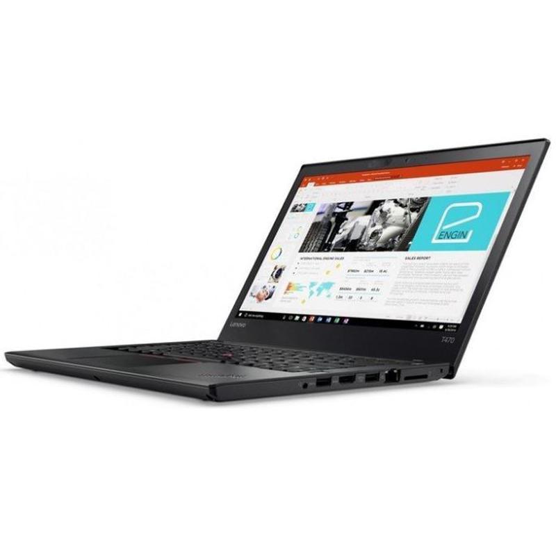 "Lenovo ThinkPad T470 14"" Core i5 2,6 GHz - SSD 256 Go - 8 Go QWERTY - Anglais (US)"