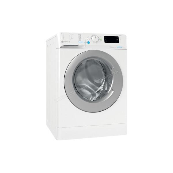 Lave-linge classique 59,5 cm Frontal Indesit BWE101483XWSEUN