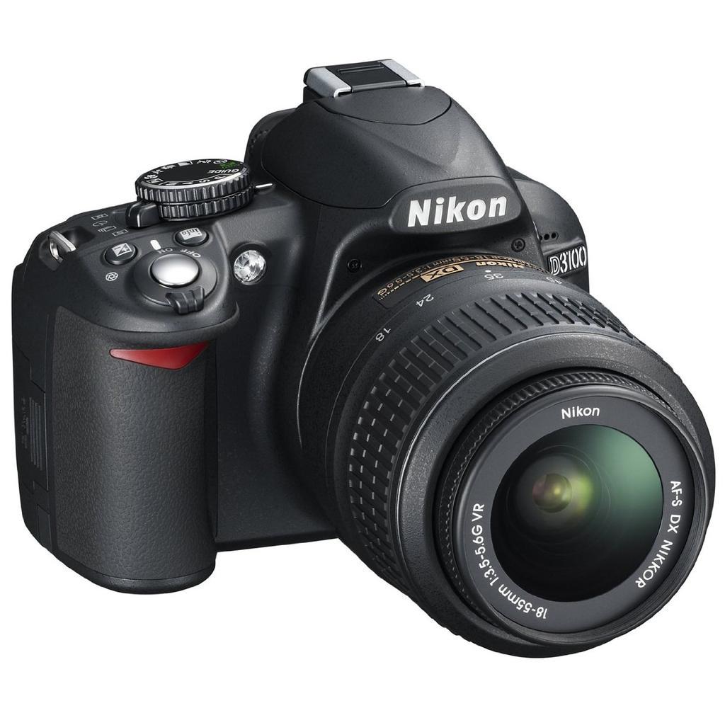 Reflex - Nikon D3100 Noir Nikon AF-S DX Nikkor 18-55mm f/3.5-5.6G VR